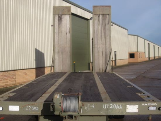King draw bar plant ex.military trailer.  for sale . The UK MOD Direct Sales
