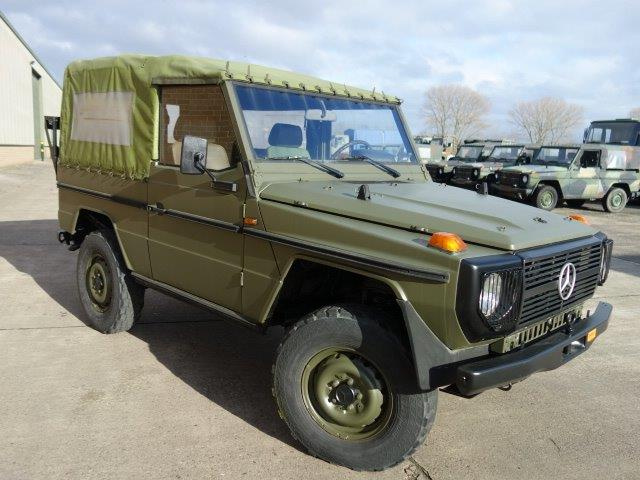 Mercedes Benz G wagon 240GD | used military vehicles for sale
