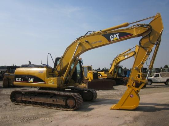 WAS SOLD Caterpillar 323 DL tracked excavator