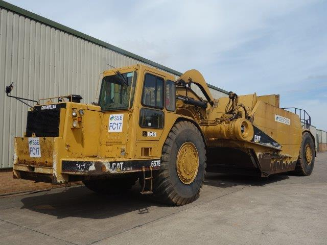 WAS SOLD Caterpillar 657E Motor Scraper