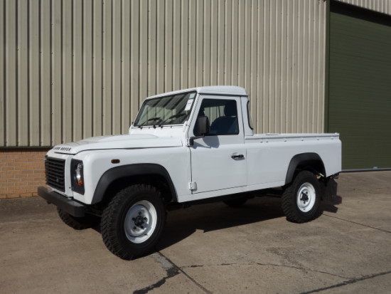 New Land Rover Defender 110 RHD pickup for sale | MOD direct sales