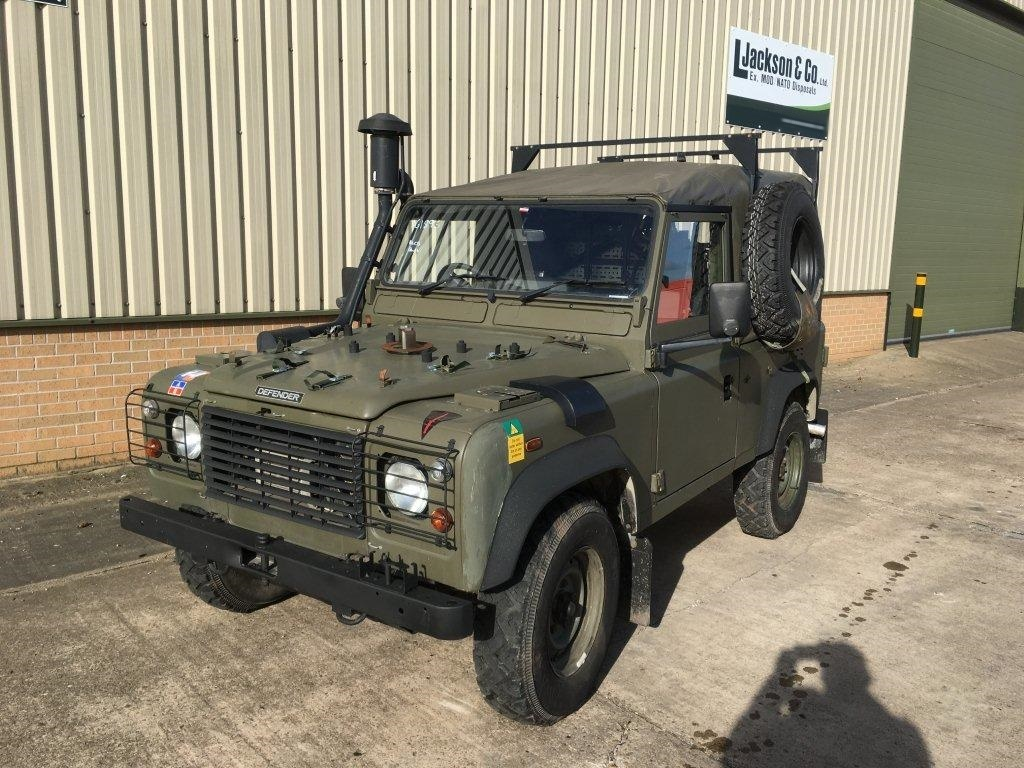 Land Rover Defender 90 Wolf RHD Soft Top (Remus) for sale | military vehicles