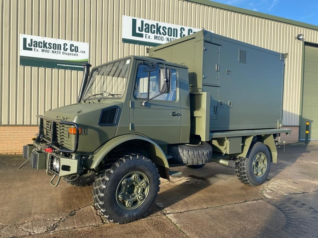 Mercedes Unimog U1300L 4x4 RHD Box Vehicle Off-road Overlander military