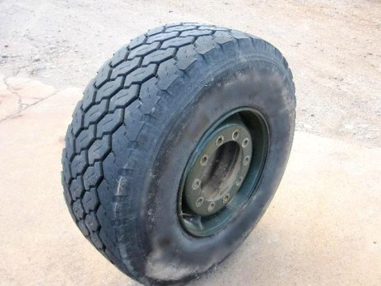 Part worn bridgestone 445/65 R22.5 22.5 radial tyres | used military vehicles, MOD surplus for sale
