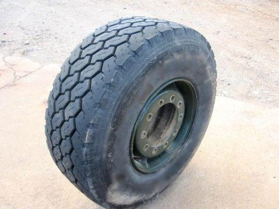Part worn bridgestone 445/65 R22.5 22.5 radial tyres
