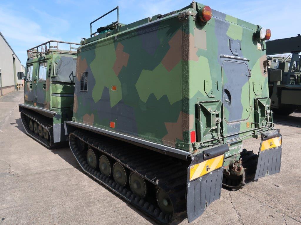 Hagglund BV 206 hardtop Radio Vehicle for sale