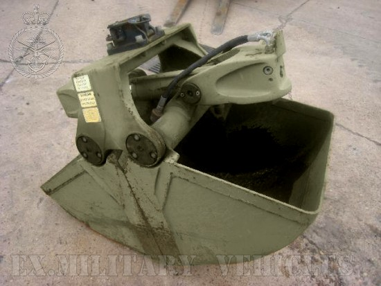 WAS SOLD Clamshell bucket Volvo