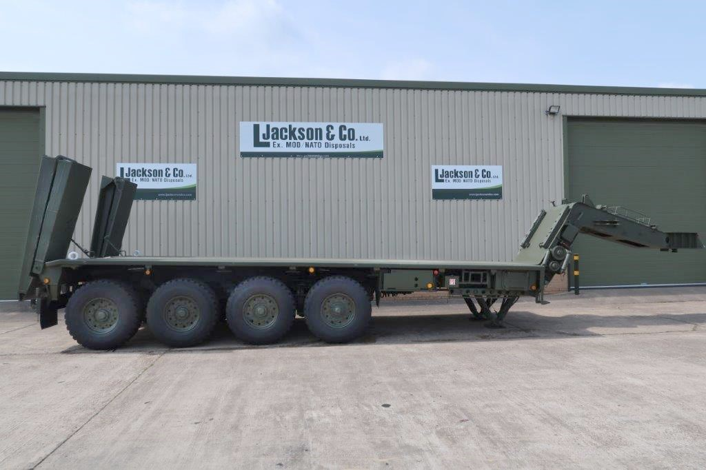 Faun Kassbohrer SLT-50-2 Semi trailer | used military vehicles, MOD surplus for sale