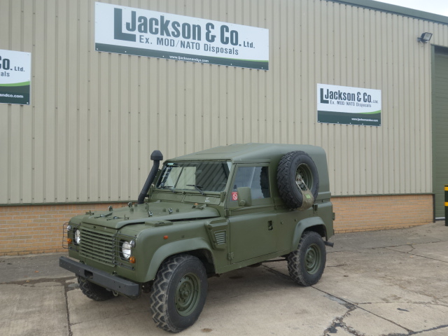 Land Rover Defender 90 Wolf LHD Hard Top (Remus) |  EX.MOD direct sales