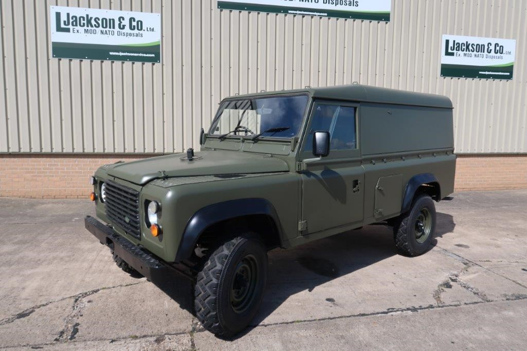 Land Rover Defender 110 RHD Hard top for sale | military vehicles