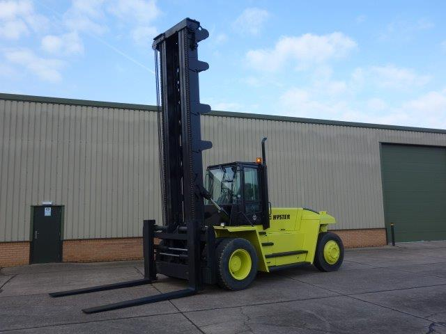 Hyster H18.00XM-12   Forklift  for sale . The UK MOD Direct Sales