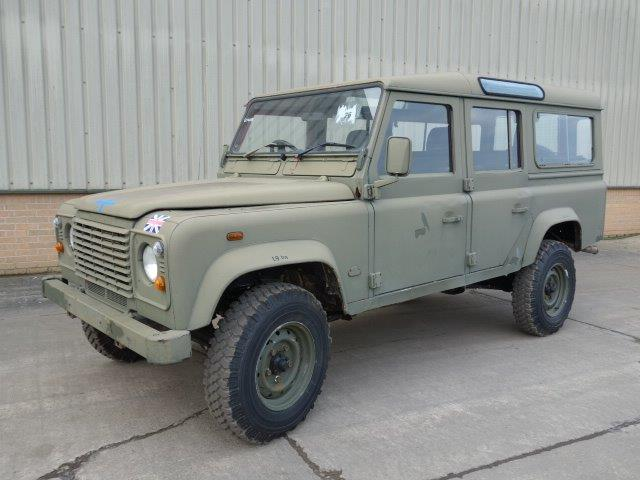 Land Rover Defender 110 RHD Station Wagon for sale | military vehicles