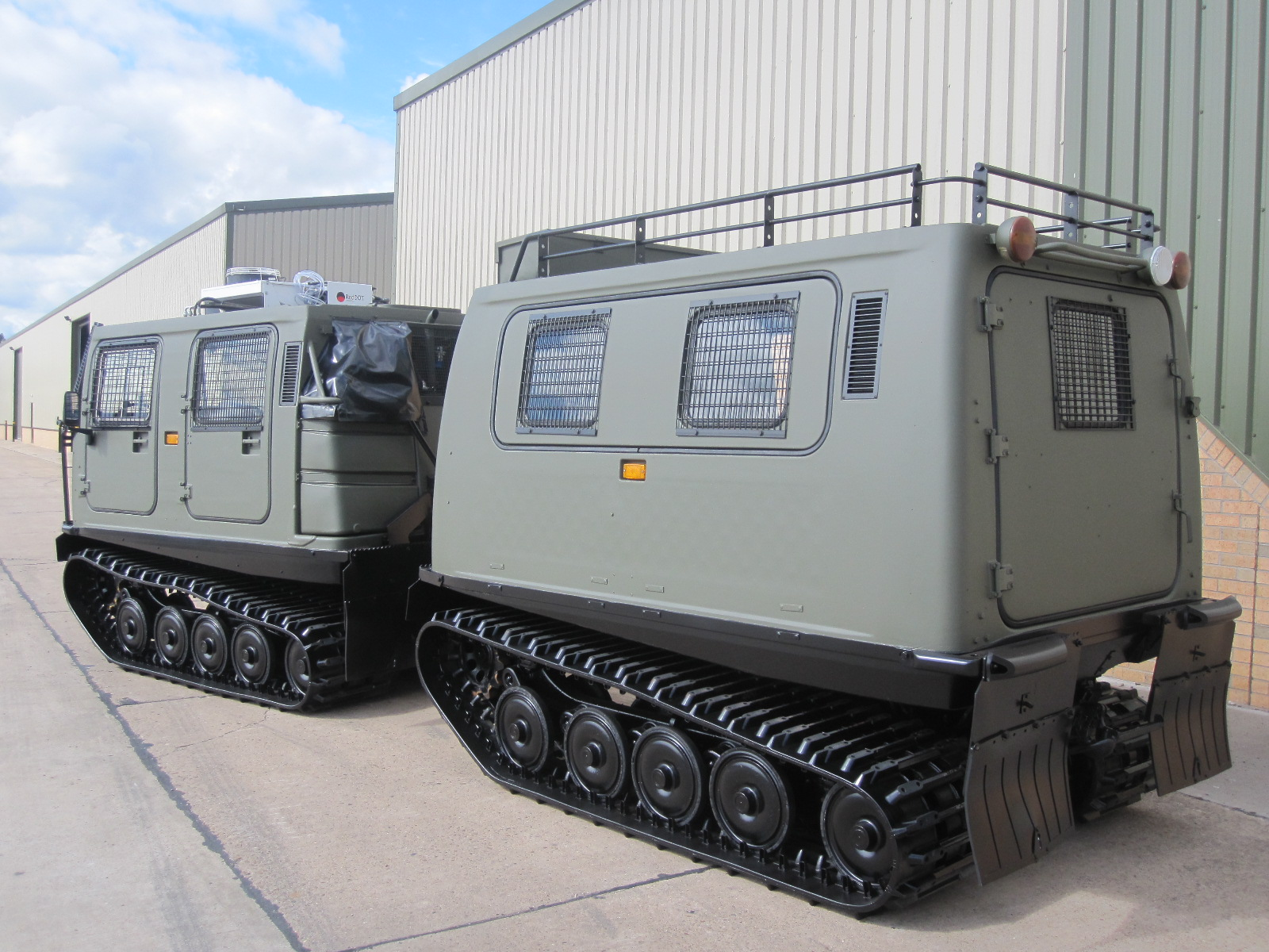 Hagglund BV206 Personnel Carrier (Petrol/Gasolene) for sale