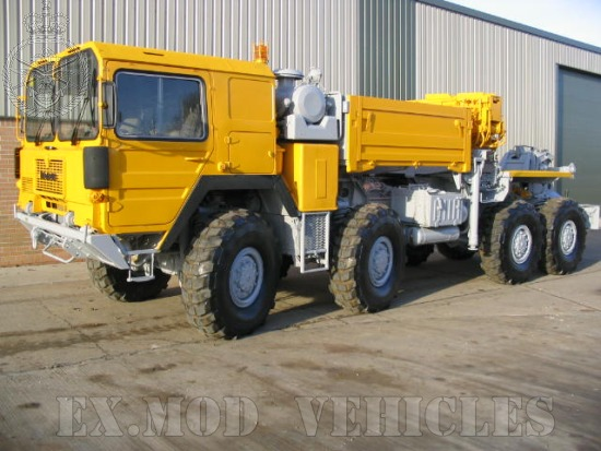 MAN 1002 8x8 Wrecker Truck for sale