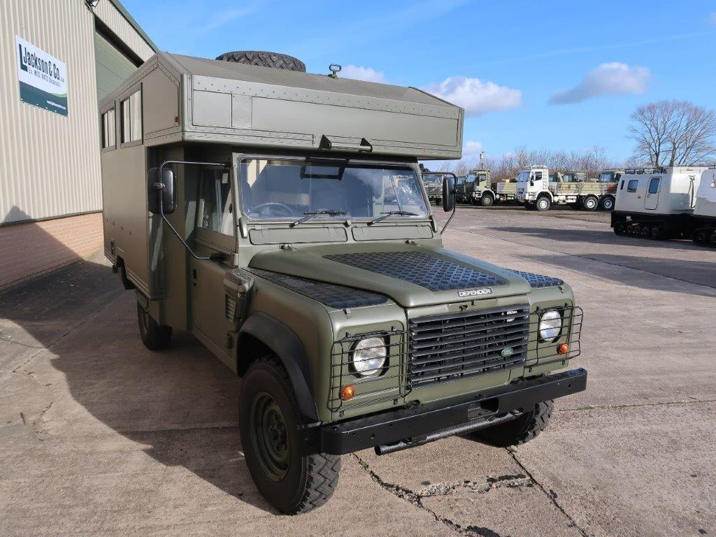 Land Rover Defender 130 Wolf Gun Bus | used military vehicles, MOD surplus for sale