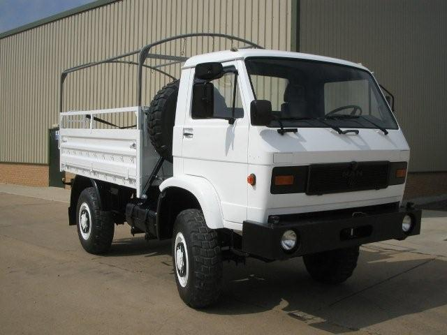 MAN 8.136 FAE 4x4 Drop side cargo truck | used military vehicles, MOD surplus for sale