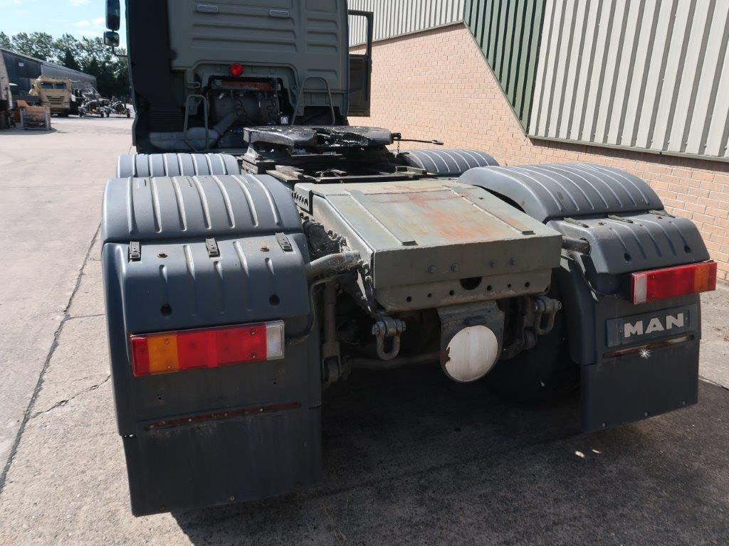 MAN TGA 33.530 6x4 Tractor Unit | used military vehicles, MOD surplus for sale