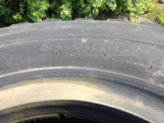 Bridgestone 29.5T35 VSTEEL (Used 75/80% Good) | used military vehicles, MOD surplus for sale