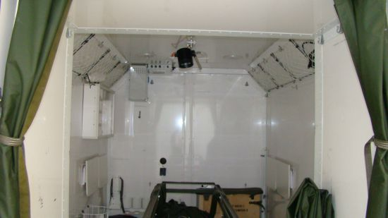 Hagglunds Bv206  Ambulance/ Mobile Theatre Unit  for sale. The UK MOD Direct Sales