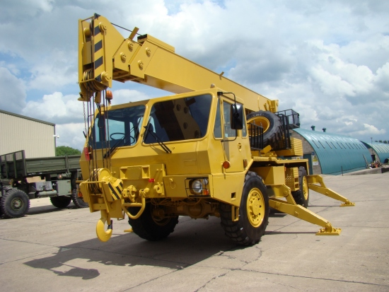 Grove 315M 4x4 all terrain military crane for sale | military vehicles