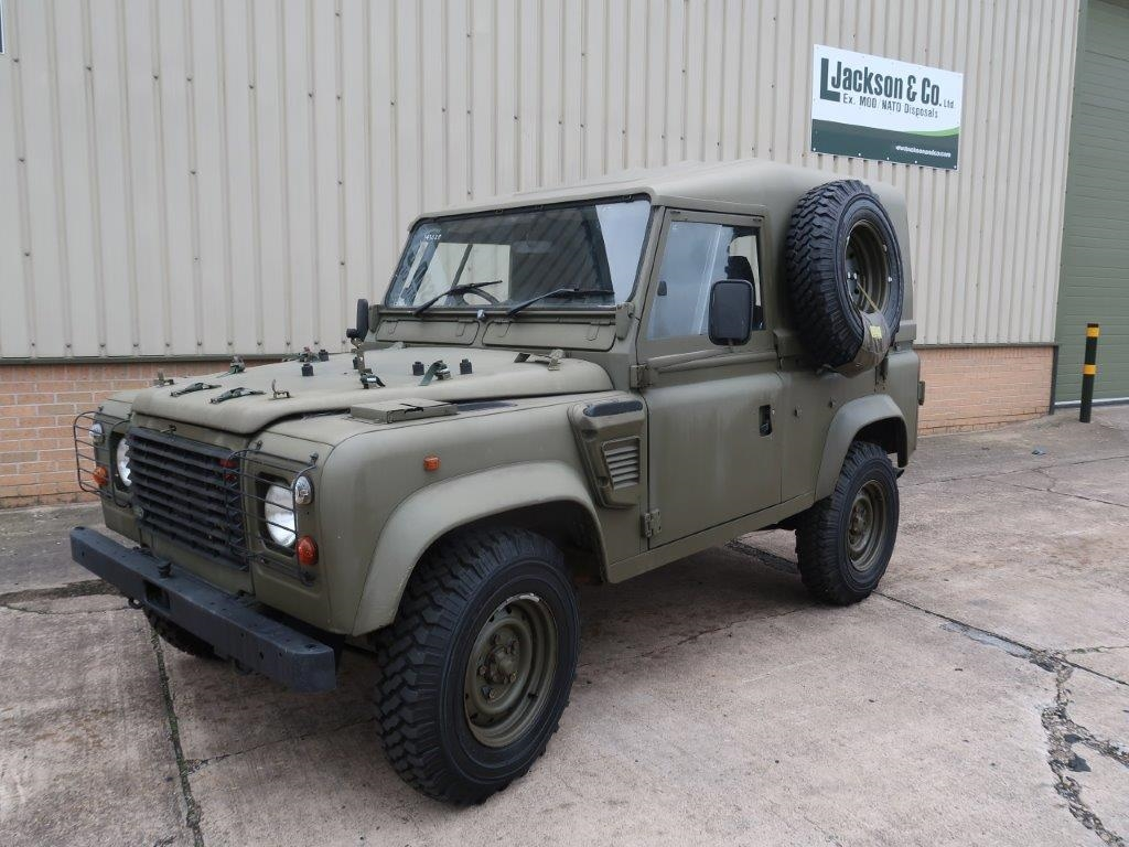 Land Rover Defender 90 Wolf RHD Hard Top (Remus) - 50306 for sale | military vehicles