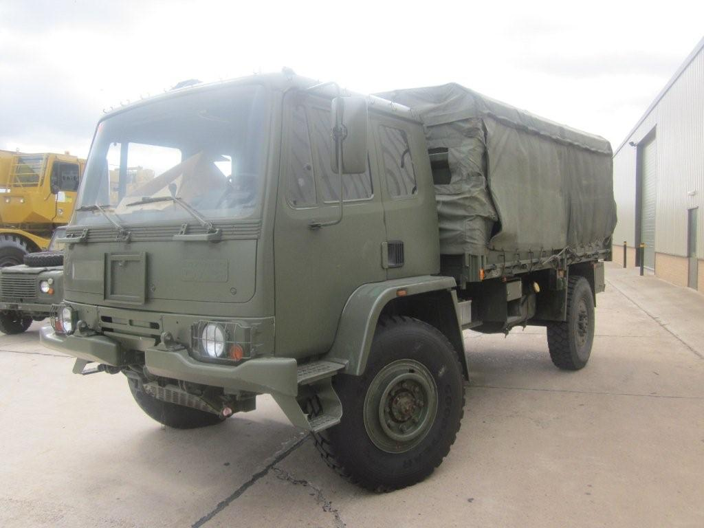 Leyland Daf 4x4 winch ex military truck for sale | military vehicles