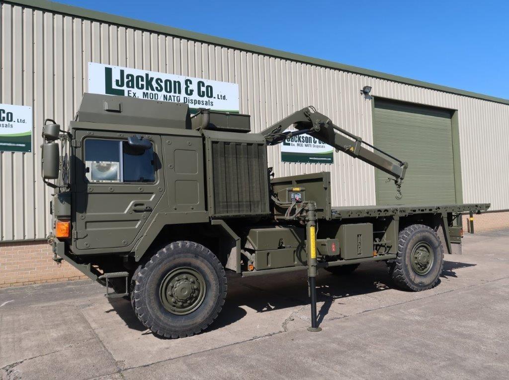 MAN 4x4 HX60 18.330 Crane Truck for sale