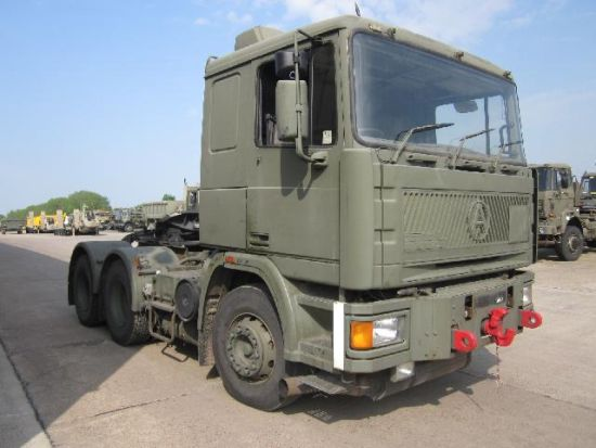 Seddon Atkinson 68 ton 6x4 RHD tractor unit Ex military vehicles for sale, Mod Sales, M.A.N military trucks 4x4, 6x6, 8x