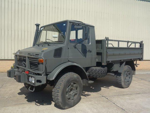 Mercedes Unimog U1300L Turbo RHD for sale | military vehicles