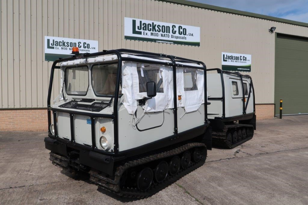 Hagglund BV 206 Soft Top Personnel Carrier With Roll Cage for sale | military vehicles