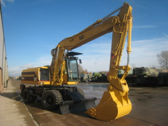 Caterpillar 318M wheeled excavator  EX.MOD direct sales