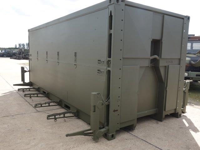 Sert elc 500 containerised catering kitchen unit for for Kitchenette units south africa