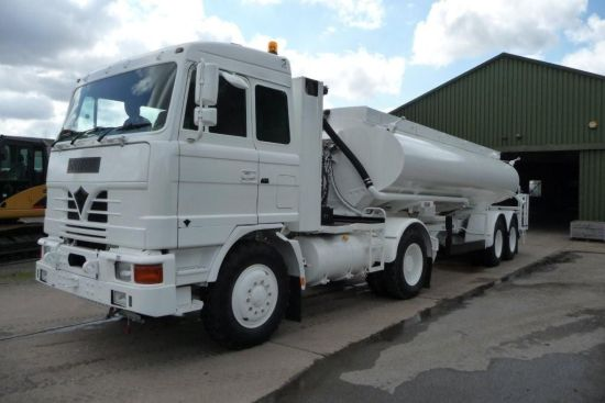 Foden 4380 MWAD 8x6 Watering Dust Suppression  Truck with Spray Bar  for sale. The UK MOD Direct Sales