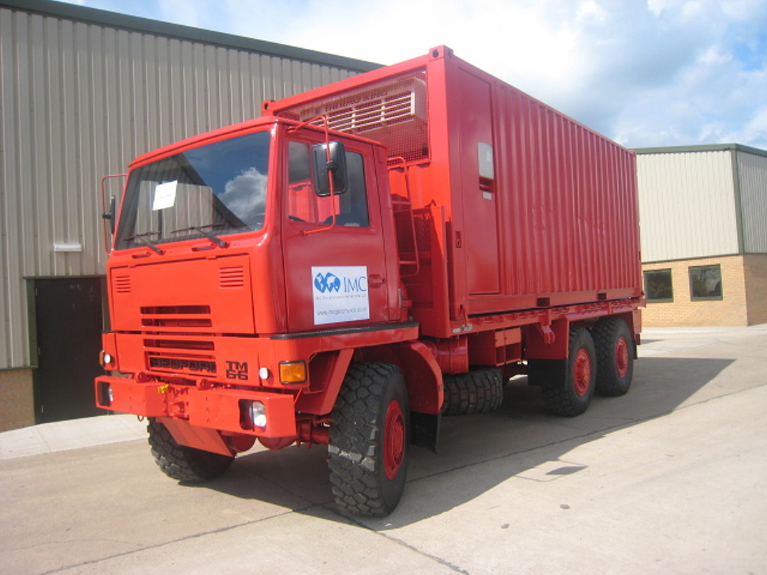 Bedford TM 6x6  container carrier for sale | military vehicles