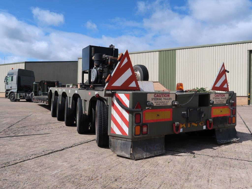 King GTL 93/5HS 5 Axle Low Loader Trailer |  EX.MOD direct sales