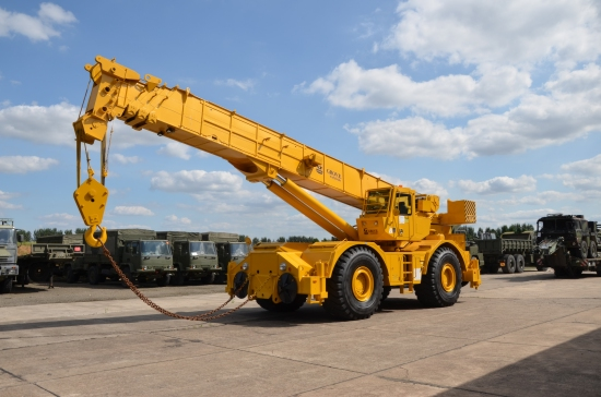 Grove RT 875 rough terrain crane | used military vehicles, MOD surplus for sale