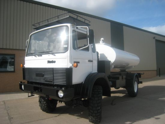 Iveco 110 - 16 tanker truck 5,000 litre capacity | used military vehicles, MOD surplus for sale