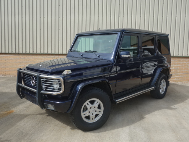 Armoured Mercedes G500  Wagon SUV 4x4 for sale | military vehicles