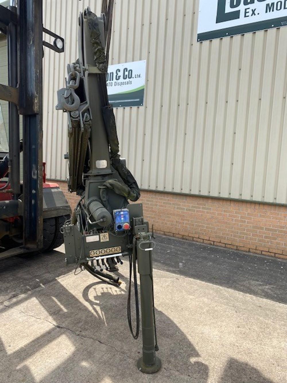 HMF 910 Hydraulic Crane for sale