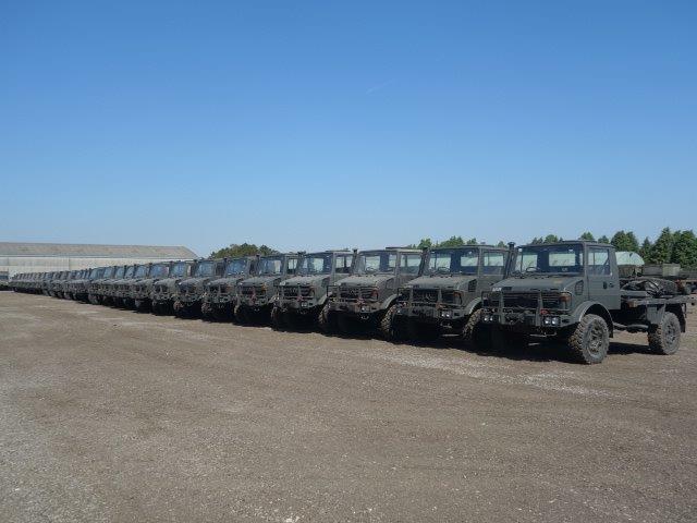 Mercedes Unimog U1300L Turbo RHD   used military vehicles, MOD surplus for sale