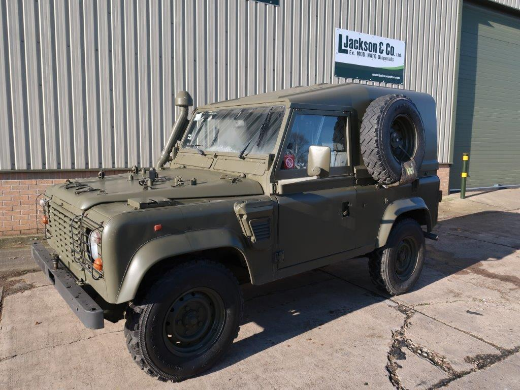 Land Rover Defender 90 Wolf LHD Hard Top (Remus) for sale | military vehicles