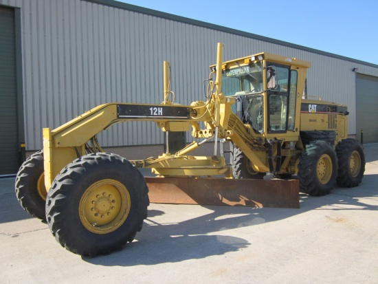 Caterpillar 12 H motor grader  for sale