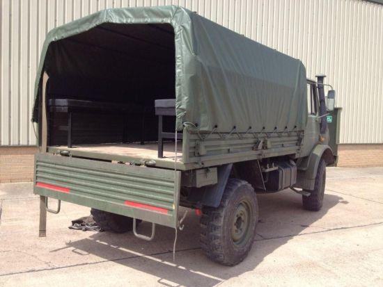 Mercedes unimog U1300L troop carrier / shoot vehicle 4x4 for sale