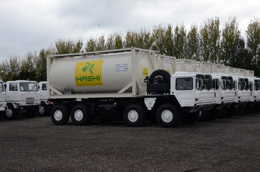 MAN CAT  A1 8x8 tanker truck  military for sale