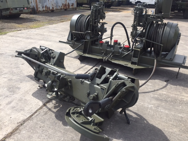 Rotzler Heavy Duty Dual Winch Unit  for sale. The UK MOD Direct Sales