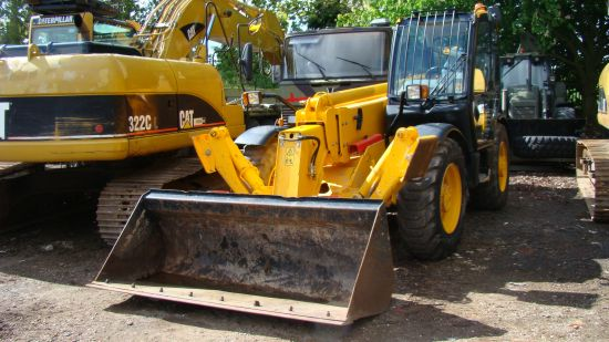 WAS SOLD JCB 535/125 teleporter