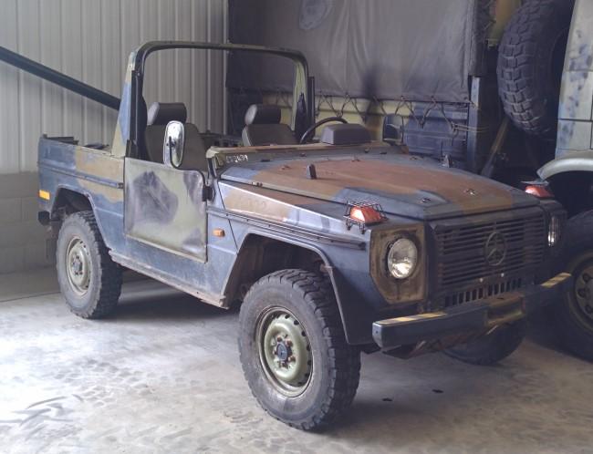 WAS SOLD Mercedes Benz 240 G Wagon - SWB