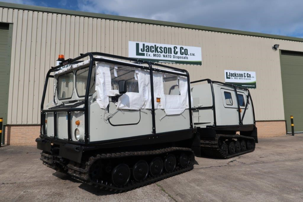 Hagglund BV 206 Soft Top Personnel Carrier With Roll Cage for sale