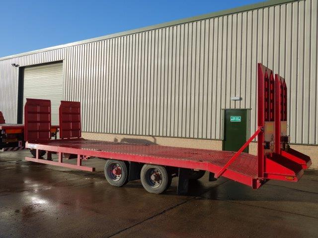 WAS SOLD Chieftain Plant Trailer