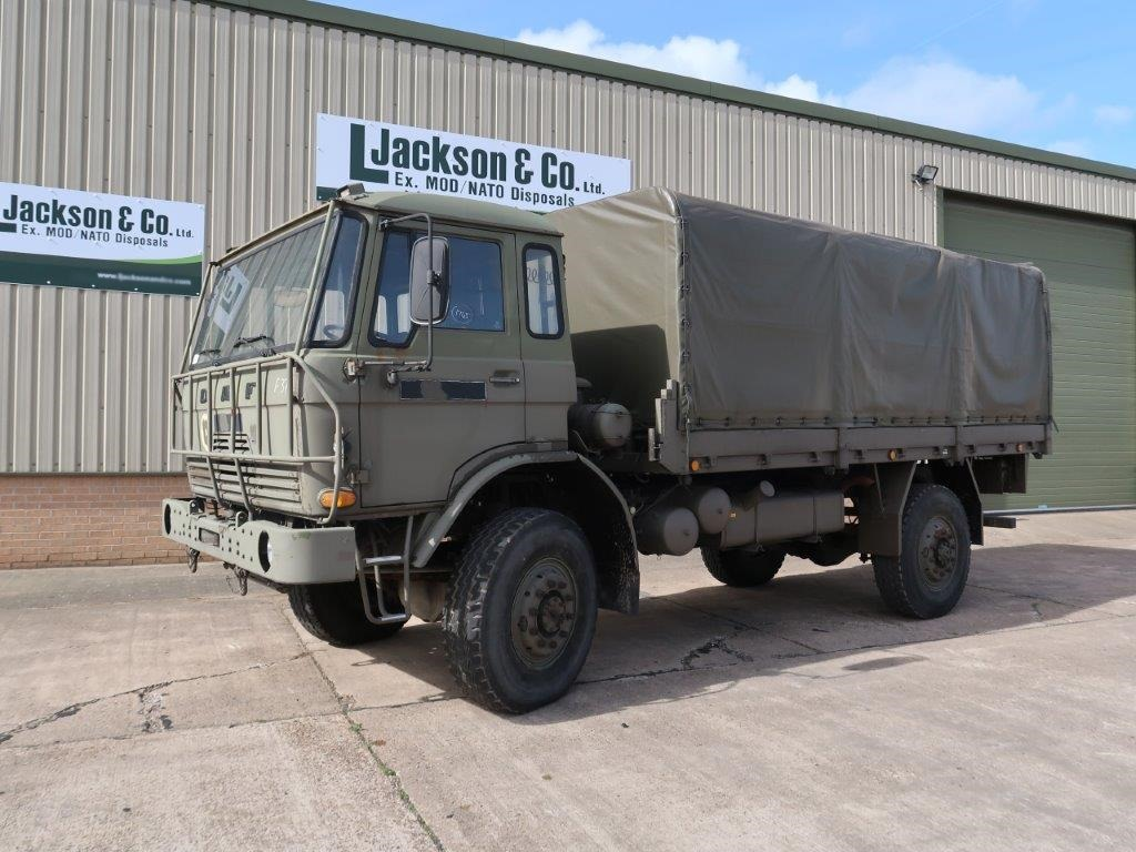 WAS SOLD DAF YA4440 4x4 Cargo Trucks With Canopy